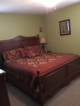 King-size bedroom set (with mattress set) in Fort Rucker, Alabama