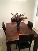 Kitchen Table, 4 chairs & bench in Fort Rucker, Alabama