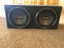 SONY 1200 w Subwoofer Speakers in Yucca Valley, California