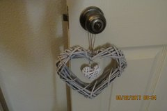 Precious Heart Shaped Wreath w/Mini Heart Insert in Kingwood, Texas
