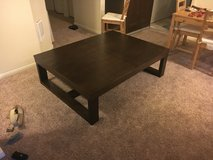 Oversized coffee table. Great deal in Fort Lewis, Washington