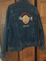 New 1980's Hard Rock Cafe Jean Jacket - Honolulu - Size Large (44) in Naperville, Illinois