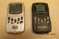 2 Handheld Poker Games w/Calculator On Reverse Side in Houston, Texas