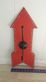 New!  Distressed Orange Arrow Hook / Hanger in Bolingbrook, Illinois