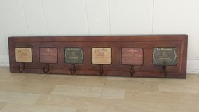 Wine Label Wall Rack with 6 Hooks in Westmont, Illinois
