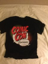 Okinawa Comic Con T shirt  tagged: small  BUT  looks Xsmall black in Okinawa, Japan