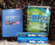 The Language of Medicine, Mosby's Med Dictionary, 1000 flashcards in Yucca Valley, California