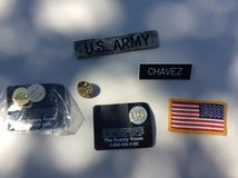 US Army Uniform Patches & Pin United States Military Flag in Houston, Texas