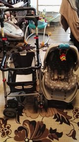 Stroller frame and snugride w/base CRACO in Ramstein, Germany