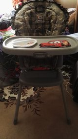Recliner high chair w/washable,waterproof seat cover in Ramstein, Germany