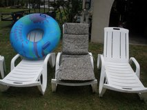 poolside lounge chairs,5.00 EACH in Beaufort, South Carolina
