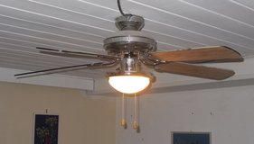 42 inch Ceiling Fan (probably originally sold under the HUNTER brand) in Ansbach, Germany