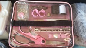 Sewing pack in Fort Irwin, California
