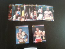 1991 Ringlords Complete Boxing set (40 cards), includes Evander Holyfield & Muhammad Ali in Ramstein, Germany