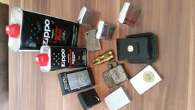 Collection of ZIPPO lighters, single ones available in Grafenwoehr, GE