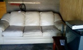 Leather Couch in Barstow, California