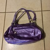 Kathy van Zeeland Purple Leather Purse Like New in Vacaville, California