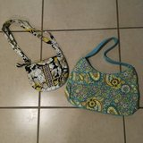Set of 2 Vera Bradley Purses Like New in Vacaville, California