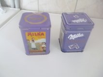 Milka cans in Ramstein, Germany