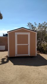 Brand New Sheds in Yucca Valley, California