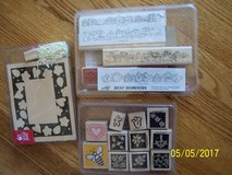 Stampin' UP rubber stamps - Brand New - NEVER USED! in Bolingbrook, Illinois