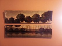 Split Oil Painting in Fort Carson, Colorado