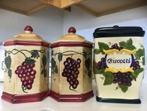 Nonni's Biscotti Canisters in Fort Belvoir, Virginia