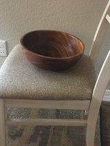 Wooden Bowl in Fort Carson, Colorado