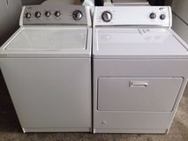 Whirlpool Washer and Gas Dryer in Vista, California