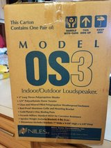 Brand New Never Used Niles OS3 Outdoor Speakers in Bartlett, Illinois