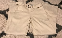 Cream dress pants size Small in Fort Benning, Georgia
