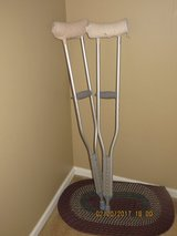Premier Pro Aluminum Adjustable Crutches in Naperville, Illinois