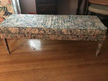 Floral bench/window seat in Columbia, South Carolina