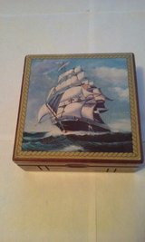 Navy Sailing Ship Men's Jewelry Box in Bartlett, Illinois