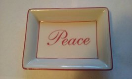 "Peace Tray 5"" x 4"" in Aurora, Illinois"