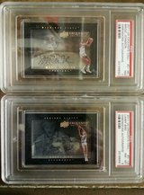 magic johnson and larry bird autographed cards, guaranteed authentic in Okinawa, Japan