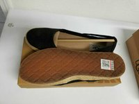 UGG Black Flats 7.5 NEW in Cherry Point, North Carolina