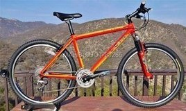 "KLEIN attitude comp 26"" wheel mountain bike; men's medium sized; [MADE IN USA] in Okinawa, Japan"