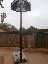 Basket Ball Hoop with Pole in Yucca Valley, California