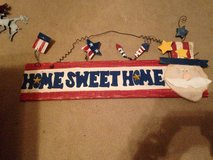 Home sweet home sign in Lawton, Oklahoma