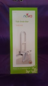 Reduced - Bathtub / Shower Safety Grab Bar - New (Nova Brand) in Glendale Heights, Illinois
