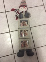 Adorable Snowman Photo Holder - Christmas/Winter decoration!! in Ramstein, Germany