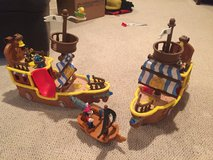 Jake and the Neverland Pirates ship lot in Lockport, Illinois