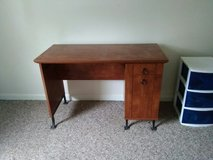 Wooden desk in Fort Knox, Kentucky