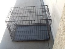 Dog crate in 29 Palms, California