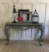 Distressed sofa table in Kingwood, Texas
