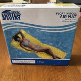 Open Water Swim Float 'N Roll Air Mat- New in Naperville, Illinois