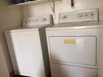 KENMORE WASHER AND DRYER SET (DELIVERY AVAILABLE) in Fort Bliss, Texas