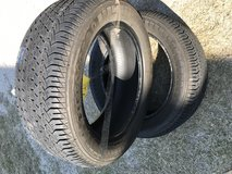 2- Tires 225/55R17 Firestone Good Condition $80.00 in Baytown, Texas