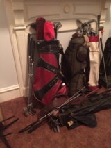 Multiple Golf Clubs PLUS 4 Golf Bags in Fort Benning, Georgia